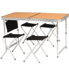 Easy Camp Belfort Picnic Table & Stool Set