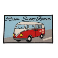 Quest Washable Roam Sweet Roam VW Camper Welcome Mat