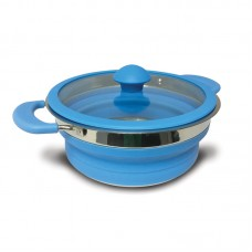 Kampa Collapsible Saucepan 1.5 Litre - Blue