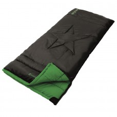 Outwell Cave Kids Sleeping Bag - Black/Green