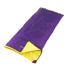 Outwell Cave Kids Sleeping Bag - Purple/Yellow
