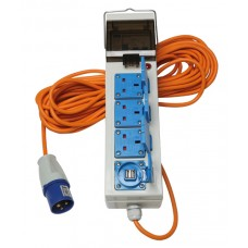Quest Deluxe Mobile Mains Kit (includes usb charging sockets)