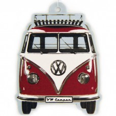 VW Camper T1 Vanilla Air Freshener - Red