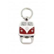 VW Camper T1 Key Ring & Bottle Opener - Red